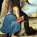 Vivarini's Saint Jerome Reading by Cora Wandel