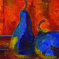 Vivid Pears Art Painting by Blenda Studio