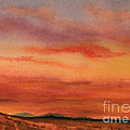 Vivid Sunset by Roena King