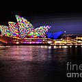 Vivid Sydney 2014 - Opera House 5 By Kaye Menner by Kaye Menner