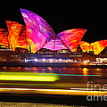 Vivid Sydney By Kaye Menner - Opera House ... Triangles by Kaye Menner