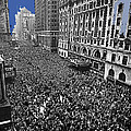 Vj Day Times Square New York City 1945 Color Added 2013 by David Lee Guss