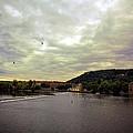 Vltava View Revisited - Prague by Madeline Ellis
