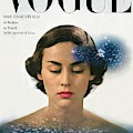 Vogue Cover Featuring Joan Petit by Herbert Matter