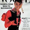 Vogue Cover Featuring Tatjana Patitz By Patrick Demarchelier