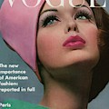 Vogue Cover Of Dorothy Mcgowan by Bert Stern