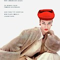 Vogue Cover Of Janet Randy by Clifford Coffin