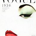 Vogue Cover Of Jean Patchett by Erwin Blumenfeld