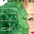 Vogue Cover Of Nina De Voe by Erwin Blumenfeld
