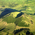 Volcanic Mound by Steve Allen/science Photo Library