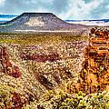 Volcano At Grand Canyon Arizona by Bob and Nadine Johnston