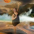 Volcano Goddess by Kim Cyprian