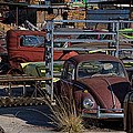 Volkswagen At Scrap Yard by Nick Gray