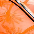 Volkswagen Vw Bug - Beetle Emblem -0164c by Jill Reger