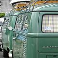Volkswagen Vw Bus by Jill Reger
