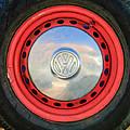 Volkswagen Vw Wheel Emblem by Jill Reger