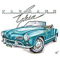 Volkswagon Karmann Ghia by Shannon Watts