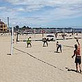 Volleyball At The Santa Cruz Beach Boardwalk California 5d23837 by Wingsdomain Art and Photography