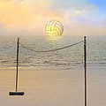 Volleyball Sunset by Stephen Warren