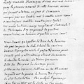 Voltaire Letter, 1740 by Granger