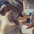 Vor Dem Spiegel by Edgar Degas