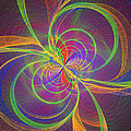 Vortex Abstract Digital Fractal Flame Art by Keith Webber Jr