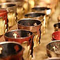 Votive Candles by Lynn Sprowl