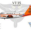 Vt-35 Stingrays by Clay Greunke