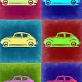 Vw Beetle Pop Art 2 by Naxart Studio