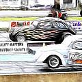 Vw Beetle Race by Steve McKinzie