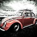 Vw Bug Art by Steve McKinzie