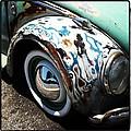 Vw Fender Art by Gwyn Newcombe