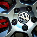 Vw Gti Wheel by Joseph Skompski