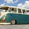 Vw Lowrider Bus by Mike McGlothlen