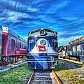 Wabash E8 No 1009 by Greg Hager