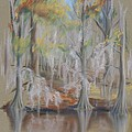 Waccamaw River Impressions by MM Anderson