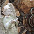 Wagon Wheel Angel by Donna Lee Young