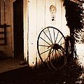 Wagon Wheel by Deborah Fay