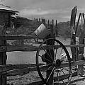 Wagon Wheel by Michael Anderson