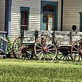 Wagon Wheels In Dodge City by Dan Sproul