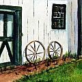 Wagon Wheels  by Katherine  Berlin