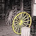 Wagon Wheels by Sharon Woerner