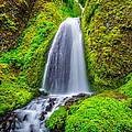 Wahkeena Falls Oregon by Lee Cuellar