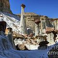Wahweap Hoodoos Utah by Bob Christopher