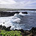 Waianapanapa Pailoa Bay Hana Maui Hawaii by Sharon Mau