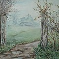 Waikato Fog. by Val Stokes