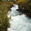 Waikato River Huka Falls by Venetia Featherstone-Witty