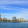 Waikiki And Diamond Head From The West by Aloha Art