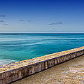 Waikiki Beach Walk Panoramic by Tin Lung Chao
