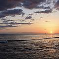 Waikiki Sunset by Brandon Tabiolo